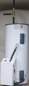 Single Spectrum connection to water heater tank