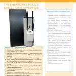 Focus Single Tank Appliance Fact Sheet