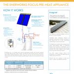 How Focus Pre-Heat Appliance works