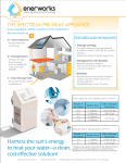 Spectrum Preheat Appliance
